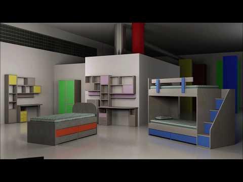 Project House | παιδικό - νεανικό έπιπλο