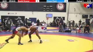 Schultz MFS 66 KG 1st Place: Sushil Kumar (India) vs. Chase Pami (Sunkist Kids)