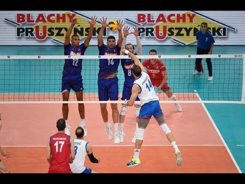 France- Serbia Semifinal Highlights | European Championship Volleyball 2019