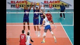 France- Serbia Semifinal Highlights   European Championship Volleyball 2019