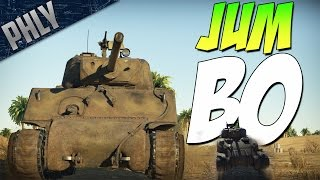 TIGERS WORST NIGHTMARE - Jumbo Sherman (War Thunder Tanks Gameplay)