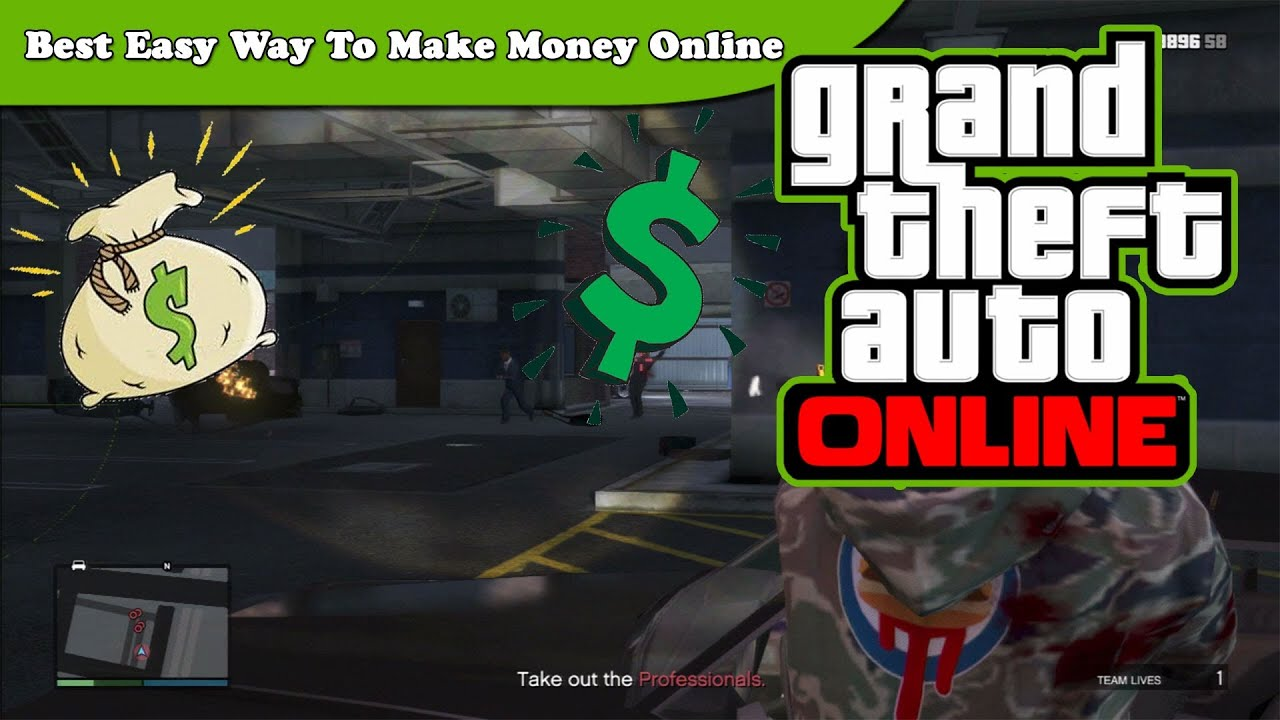easy way to make money in gta 5 online ps4
