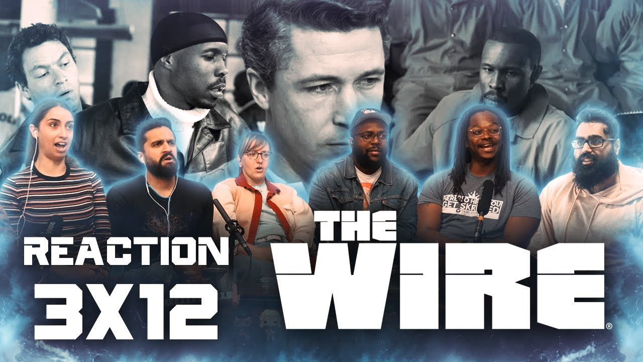 The Wire - 3x12 Mission Accomplished - Group Reaction