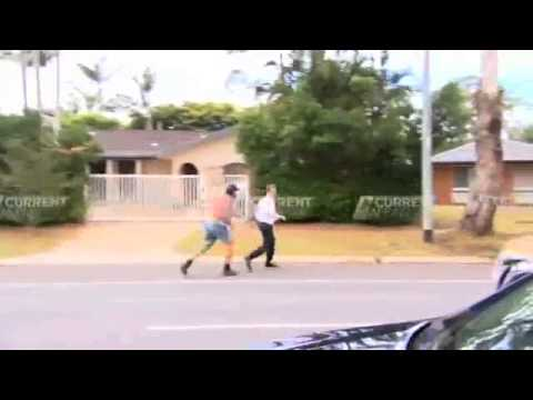 Gold Coast Pastor Attacks Channel 9 News Reporter (Benny Hill)