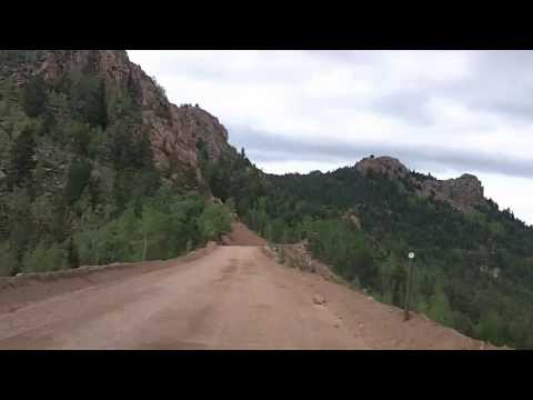 Gold Camp Road - Victor to Colorado Springs Timelapse Drive