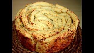 Ароматный хлеб с чесноком