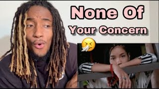 Jhené Aiko - None Of Your Concern (Official Video) REACTION