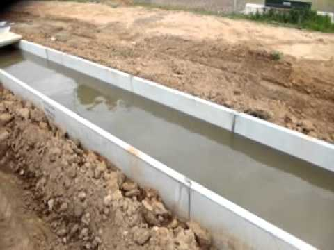 Concrete Water Channel Line