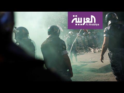اشتباكات في ساحة رياض الصلح ببيروت  - نشر قبل 2 ساعة