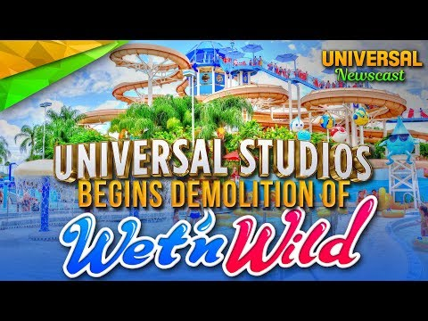 New Universal Hotels on Wet n' Wild Site - Universal Studios News 06/27/2017