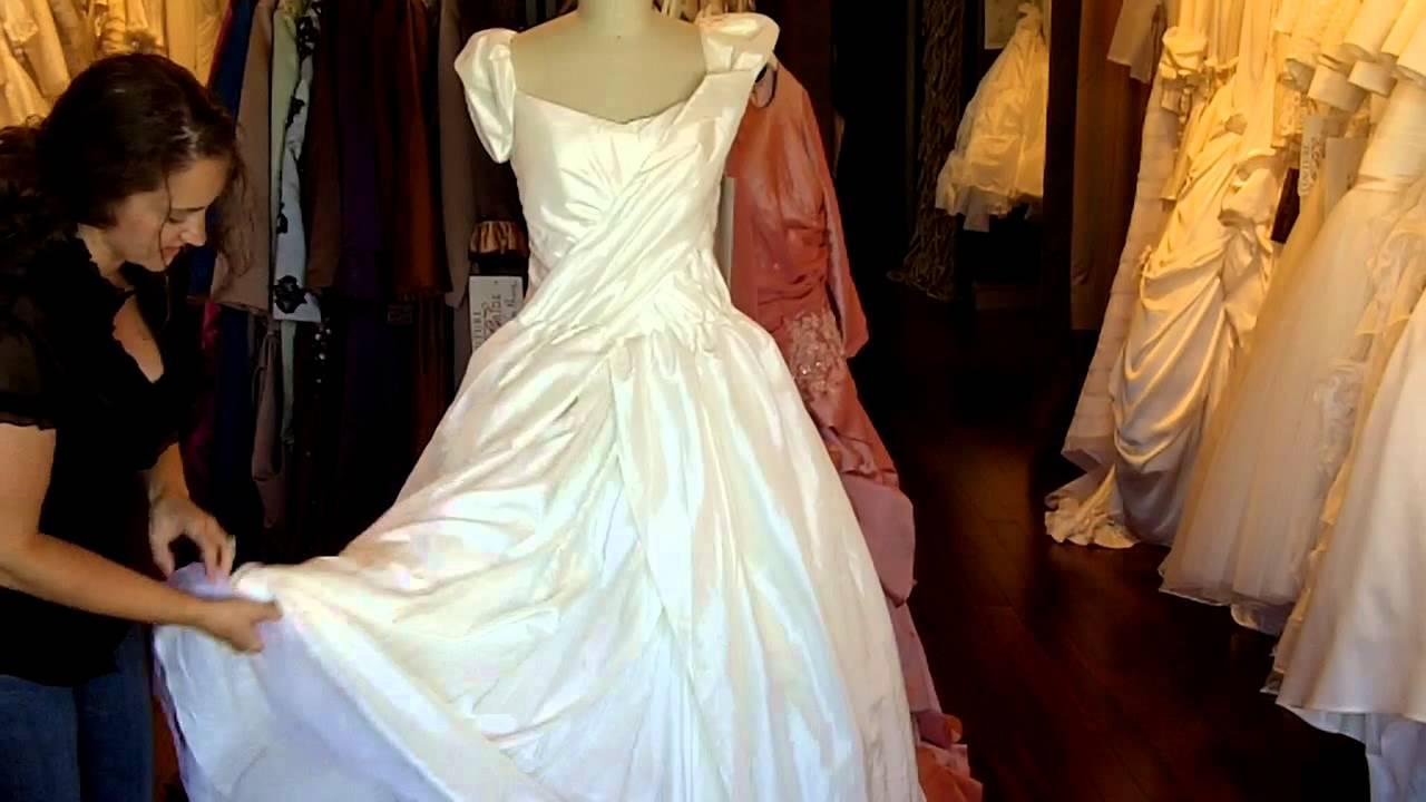 Dita Von Teese Wedding Dress In Antique Ivory Vivienne