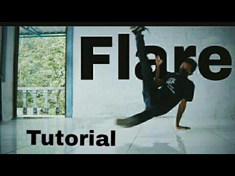 Tutorial cara melakukan breakdance Flare  bahasa indonesia   OFFICIALDITTAZ