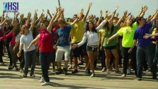 AMHSI dance for Gilad Shalit