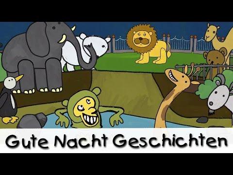Gute Nacht Geschichten: Nachts Im Zoo || Geschichten Für Kinder