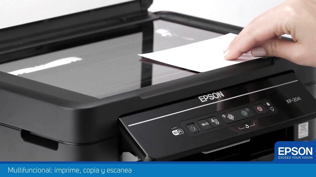 Impresora Multifuncional Epson Expression Xp 201 Youtube