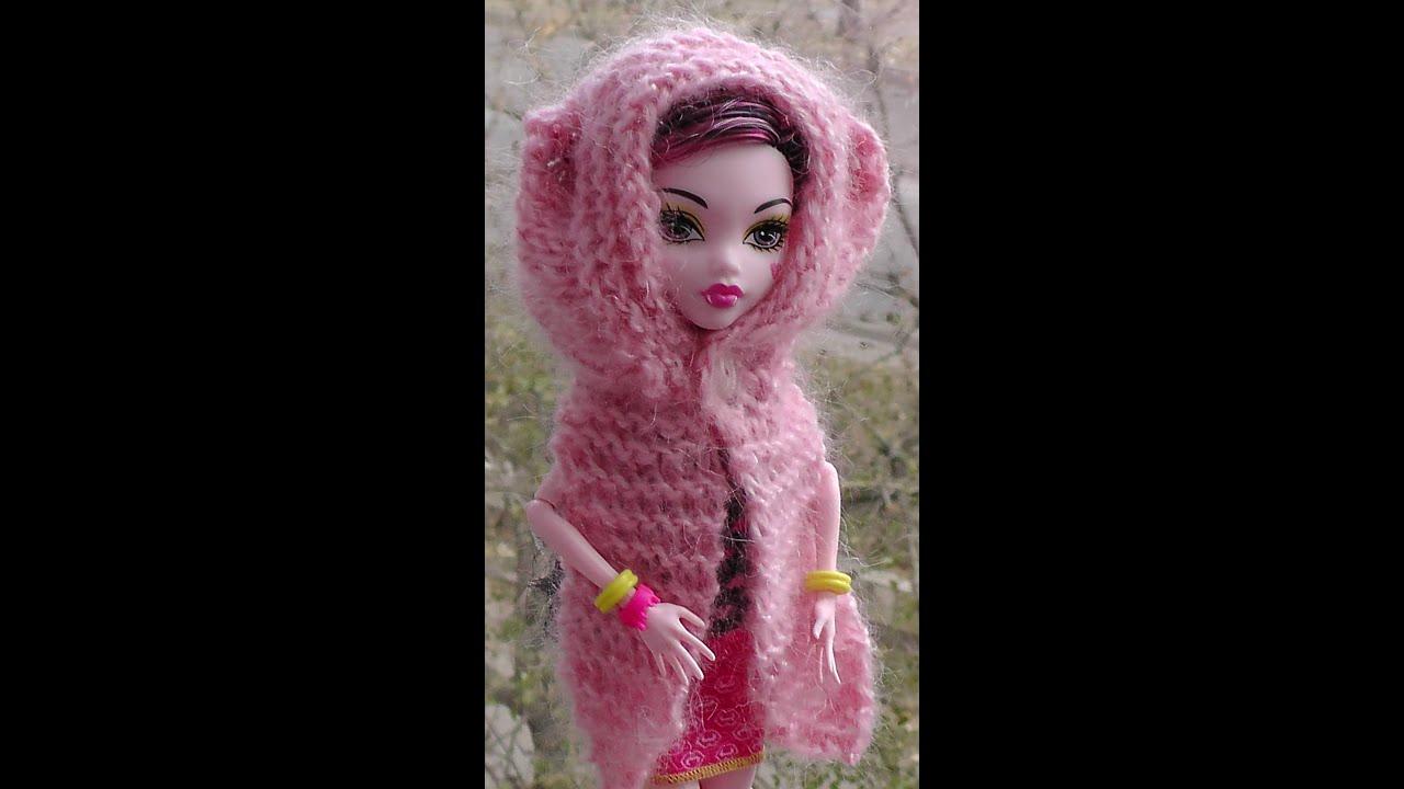 схемы для вязания шарфа девочке
