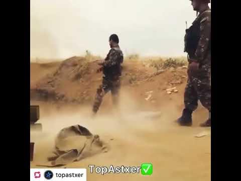 Похуизм по Армянски  Смеются даже во время Боя  Армянская ортилерия стреляет по Азербайджанским солд