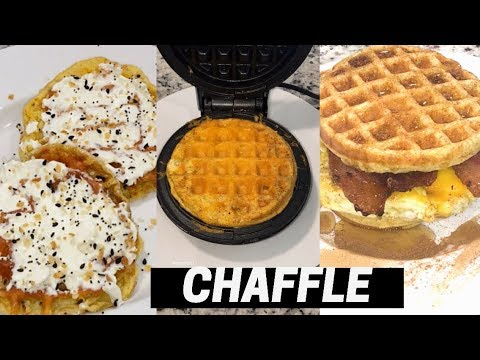 How To Make The Perfect Chaffle Egg Waffles Using The Dash