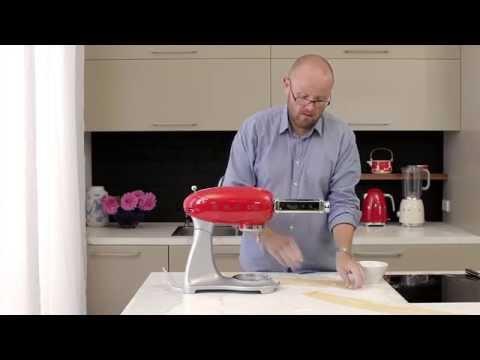 Smeg Pasta Maker How To Video Youtube