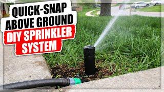 QUICK-SNAP Above Ground DIY Sprinkler System