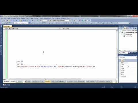 GridView Edit, Update and Delete Example in ASP NET