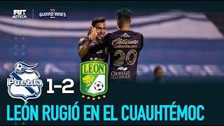 Puebla 1-2 León | Resumen y goles | Liga MX