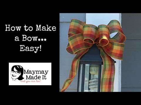 You Can Make Beautiful Bows EASY