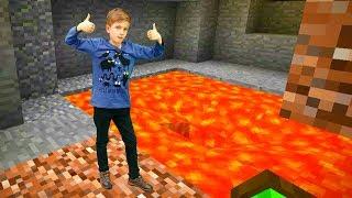 Видео Майнкрафт: как сделать ловушку из лавы. Обзор игры.
