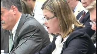 Heather White, Chief of Staff to EWG, testifies before Congress on the Science of E15 (July 2011)