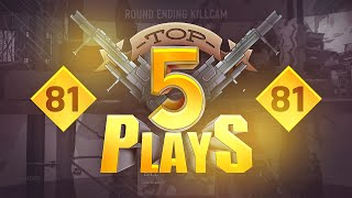FaZe Rain - Top 5 Plays - Week 81 Powered by @ScufGaming