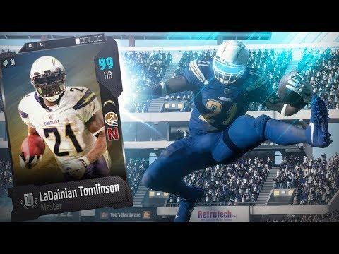 99 OVERALL!! LADAINIAN TOMLINSON - STREAK FOR THE STASH | MADDEN 18 GAMEPLAY EPISODE 4