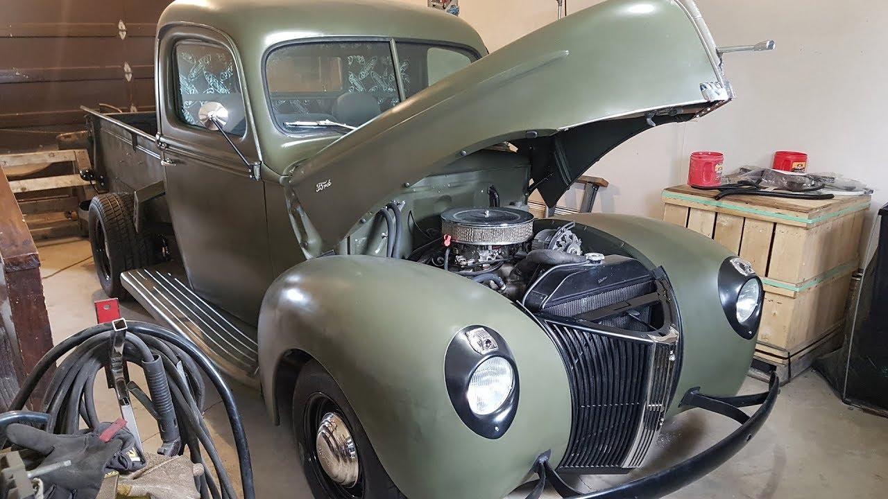 1940 Ford Pickup Restoration Youtube