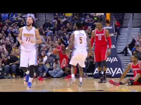 Houston Rockets vs Denver Nuggets | December 14, 2015 | NBA 2015-16 Season