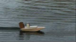 RC Airboat - Sumpfgleiter 2. Test