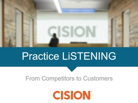 Practice Listening: From Competitors to Customers