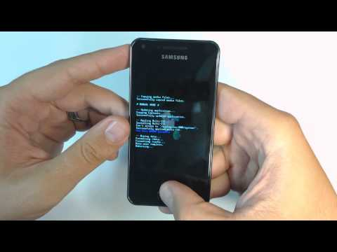 Samsung Galaxy S Advance I9070P hard reset
