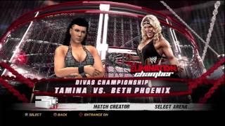 WWE Elimination Chamber 2012 Predictions Beth Phoenix vs Tamina Snuka Divas Championship