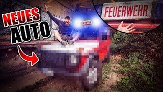MEIN NEUES AUTO! Geländewagen Feuerwehr 4x4 Blaulicht - G-Klasse Umbau #001 | Fritz Meinecke