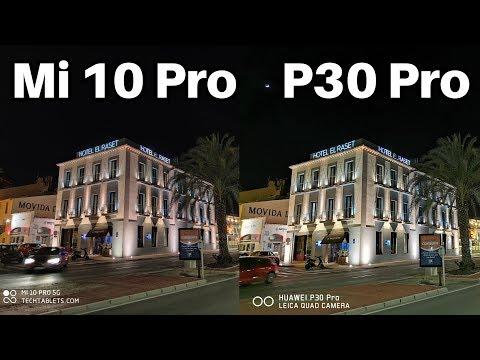 Xiaomi Mi 10 Pro vs Huawei P30 Pro Camera Comparison