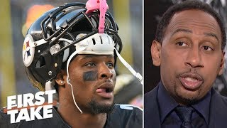 Le'Veon Bell should help Steelers win Super Bowl and then 'be gone' - Stephen A. | First Take