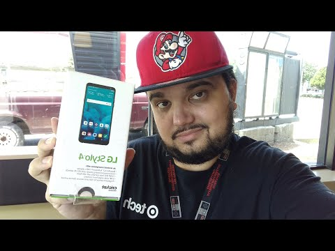 LG Stylo 4 Cricket Wireless Unboxing First Hands On Youtube