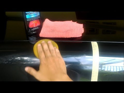 Meguiars Ultimate Compound in W202 (Video Review)