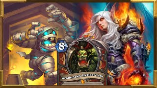 Hearthstone: Aggro Charge Warrior Goes Only Face Part 2 | Fast Wins | Fast Legend | Saviors Of Uldum