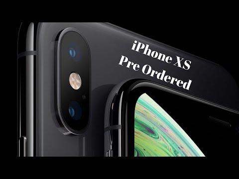 iPhone XS Max Preordered Verizon Wireless