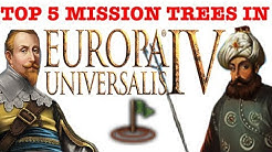 Top 5 Mission Trees in Europa Universalis 4