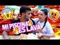 MI PISCINA ES LAVA CAKE AL AGUA FINAL EPICO EL MUNDO DE CAMILA mp3