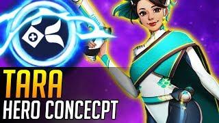 Overwatch   NEW HERO CONCEPT: Tara (Support Hero)