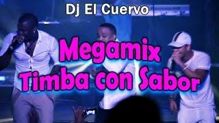MIX TIMBA CON SALSA SABOR - DJ EL CUERVO