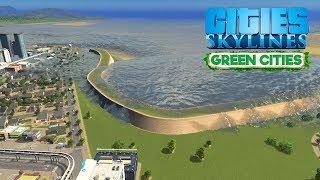 Cities Skylines Green Cities - Задержит ли защитная дамба цунами?! #27 thumbnail
