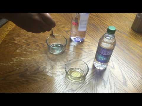 Water Evian vs Dasani pH Test